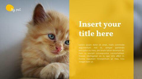 애완 동물 프레젠테이션용 PowerPoint 템플릿_25
