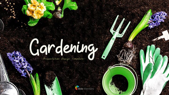 Gardening Simple PPT Templates_01