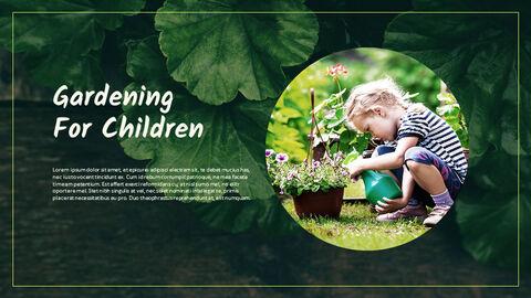 Gardening Simple PPT Templates_04
