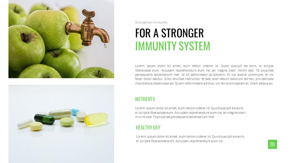 Strengthen Immunity Best Powerpoint Presentations