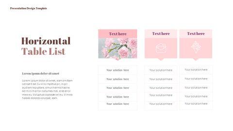 카네이션 꽃과 선물 피피티 템플릿 디자인_13