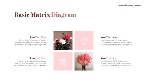 카네이션 꽃과 선물 피피티 템플릿 디자인_16