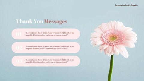 카네이션 꽃과 선물 피피티 템플릿 디자인_19