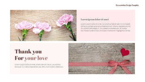 카네이션 꽃과 선물 피피티 템플릿 디자인_21