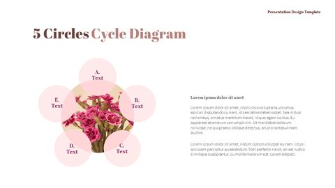 카네이션 꽃과 선물 피피티 템플릿 디자인_31