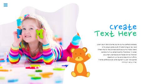 행복한 어린이날 PPT 템플릿 심플한 디자인_05