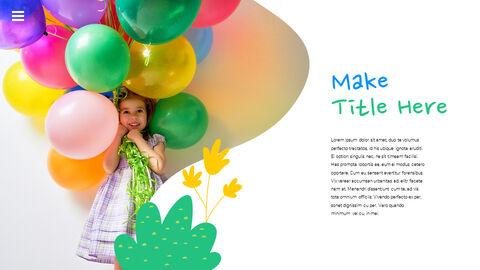 행복한 어린이날 PPT 템플릿 심플한 디자인_09