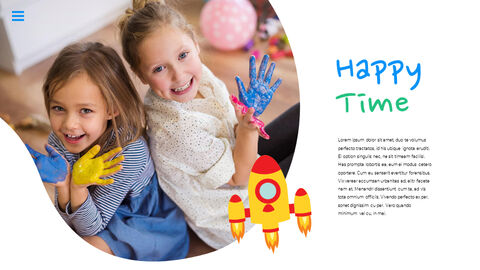 행복한 어린이날 PPT 템플릿 심플한 디자인_13
