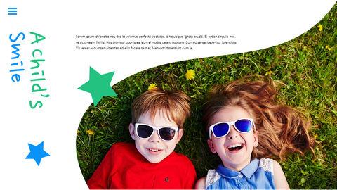 행복한 어린이날 PPT 템플릿 심플한 디자인_14