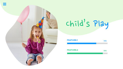 행복한 어린이날 PPT 템플릿 심플한 디자인_17