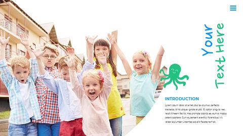 행복한 어린이날 PPT 템플릿 심플한 디자인_18