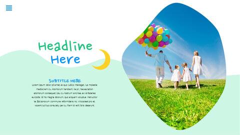 행복한 어린이날 PPT 템플릿 심플한 디자인_19