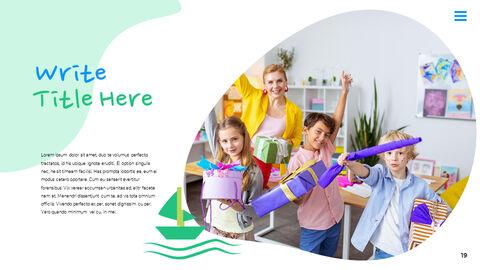 행복한 어린이날 PPT 템플릿 심플한 디자인_24