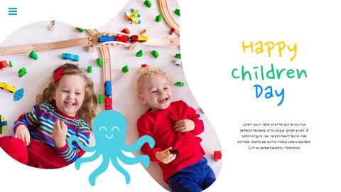 행복한 어린이날 PPT 템플릿 심플한 디자인_25