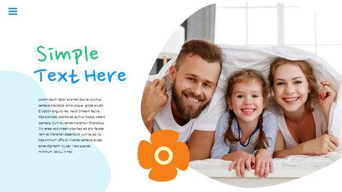 행복한 어린이날 PPT 템플릿 심플한 디자인_28
