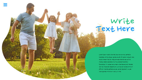 행복한 어린이날 PPT 템플릿 심플한 디자인_29