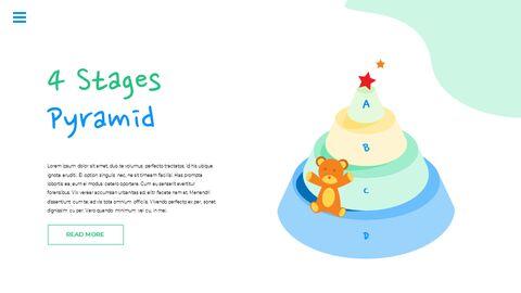 행복한 어린이날 PPT 템플릿 심플한 디자인_35
