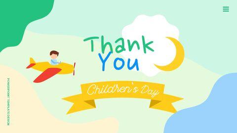행복한 어린이날 PPT 템플릿 심플한 디자인_40
