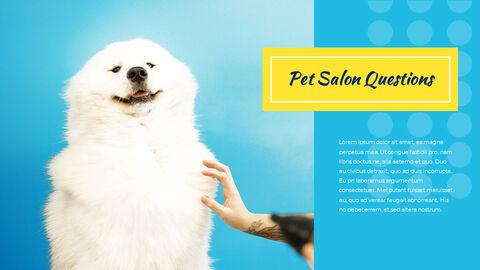 애완동물 살롱 편집이 쉬운 PPT 템플릿_21