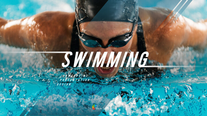Swimming PPT Business_01
