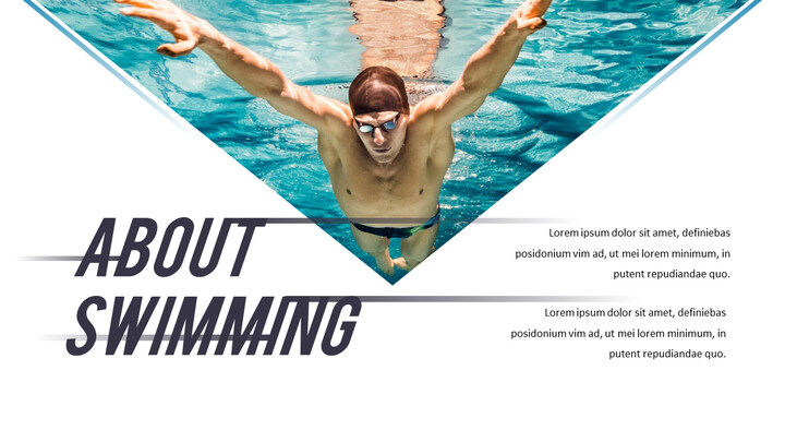Swimming PPT Business_02