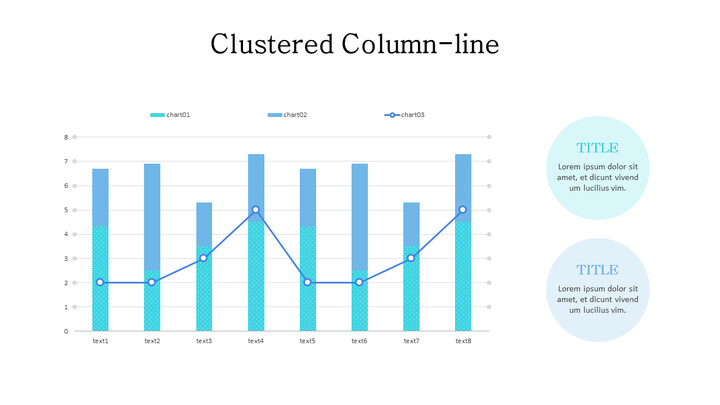 Line and Stacked Column Mix Chart_01