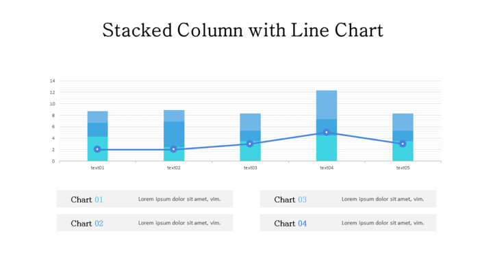 Line and Stacked Column Mix Chart_02