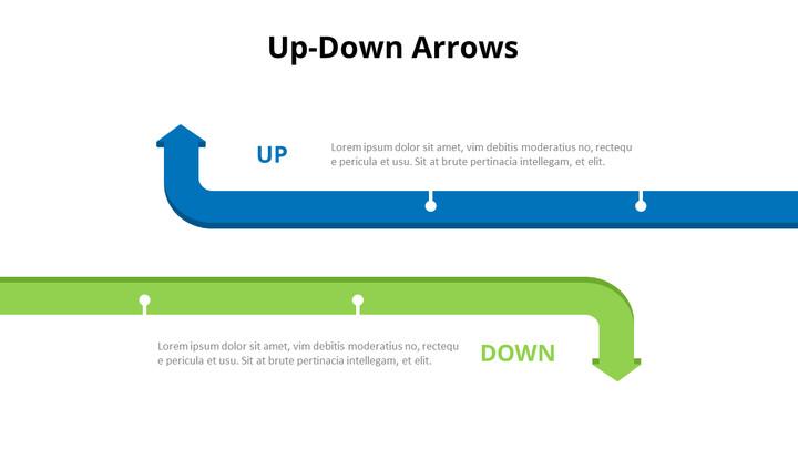 Opposing Arrows Comparison Diagram_01