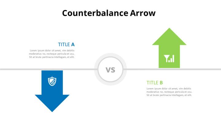 Opposing Arrows Comparison Diagram_02