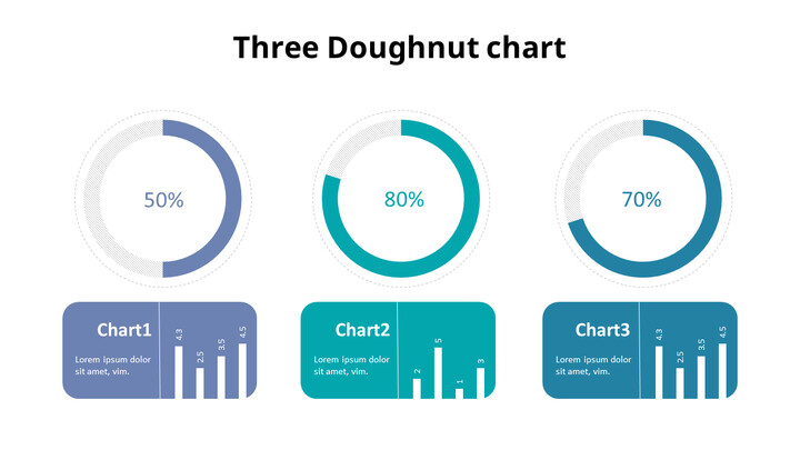 Doughnut with Column Mix Chart_01