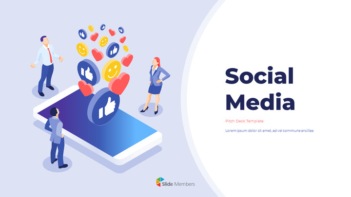 Social Media Pitch Deck Startup PPT Templates_01