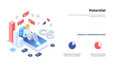 소셜 미디어 피치덱 스타트업 PPT 템플릿_05