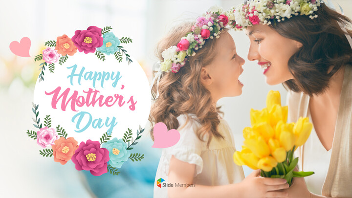 Happy Mother\'s Day PPT Background_01
