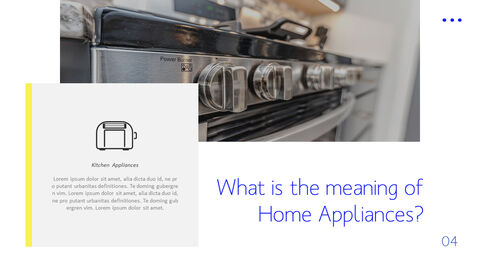 Home Appliances Business Presentation PPT_02