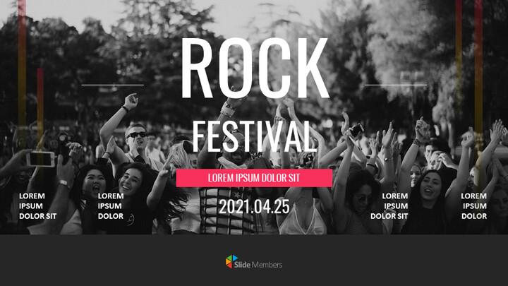 Rock Festival Google Slides Presentation_01