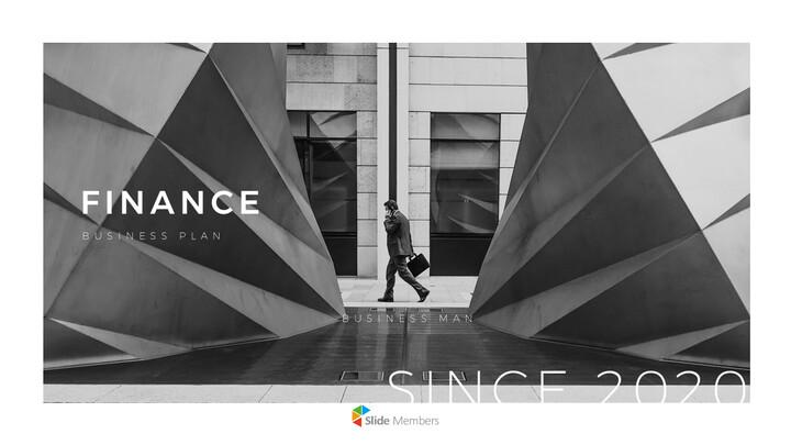 FINANCE Presentation Templates Design_01