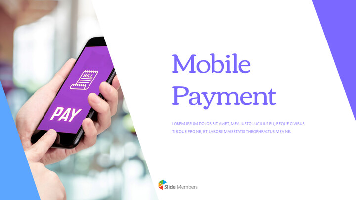Mobile Payment PowerPoint Design Download_01