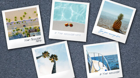 Mockup Templates for Polaroid Pictures of Summer Trips_02