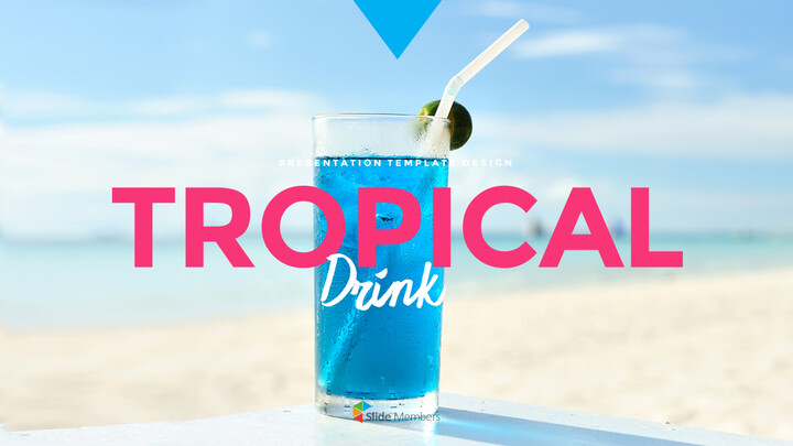 Tropical Drink Templates PPT_01