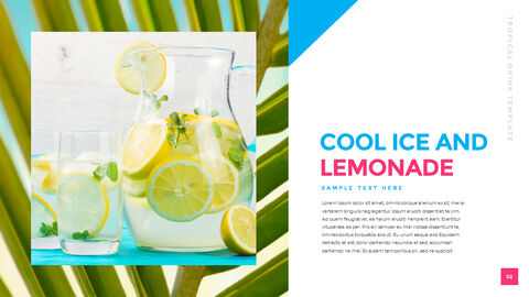 Tropical Drink Templates PPT_02