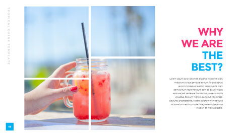 Tropical Drink Templates PPT_04