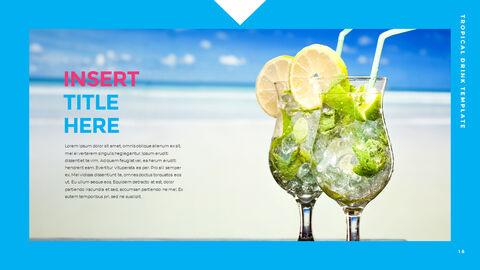 열대 음료 템플릿 PPT_17