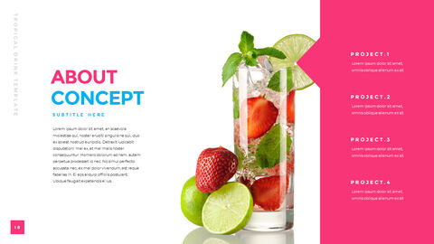 Tropical Drink Templates PPT_05