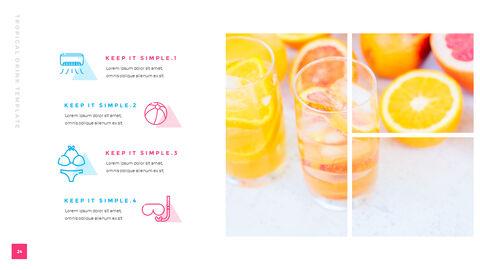 열대 음료 템플릿 PPT_25