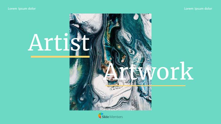 Artist Artwork Custom Google Slides_01
