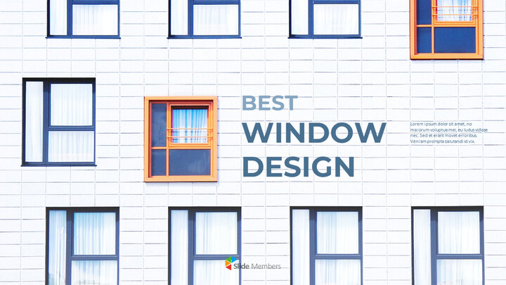 Best Window Design Marketing Presentation PPT_01