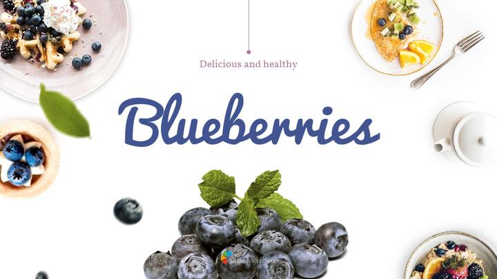 Blueberries Google PowerPoint Presentation_01