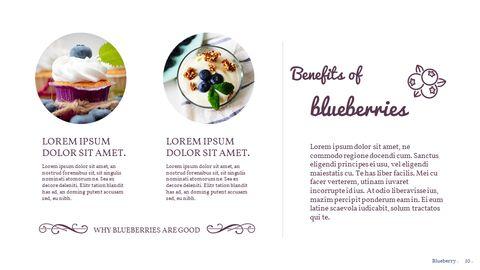 Blueberries Google PowerPoint Presentation_02