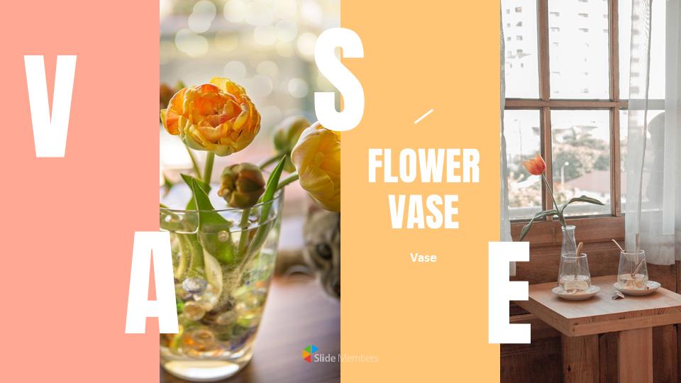 Flower Vase Ppt Presentation