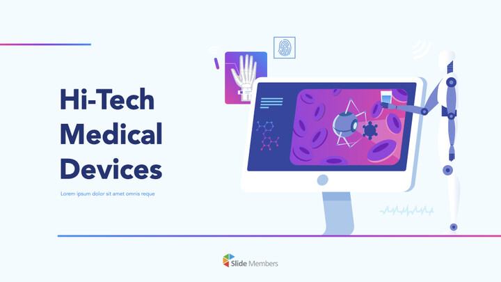 Hi-Tech Medical Devices PPT PPT Keynote_01